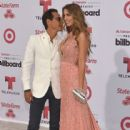Marc Anthony and Shannon De Lima - 2015 Billboard Latin Music Awards