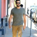 'Dead Rising' actor Jesse Metcalfe seen running some errands in West Hollywood, California on January 14, 2015