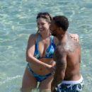 Kelly Brook Bikini Candids In Greece
