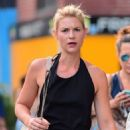 Claire Danesin Black DressOut in New York