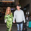 Paris Hilton and Chris Zylka are seen at LAX.NON EXCLUSIVE June 08, 2018