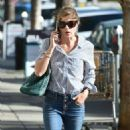 Selma Blair in Jeans – Out in Los Angeles - 454 x 810