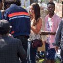 Lea Michele on set of Untitled 'City Mayor' in Los Angeles