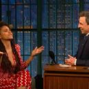 Zazie Beetz in Late Night with Seth Meyers