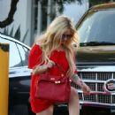 Avril Lavigne in Red out in LA - 454 x 704