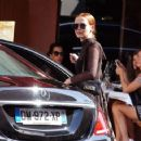 Zoey Deutch – Leaves the George V Hotel in Paris