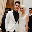 Gabe Saporta and Erin Fetherston