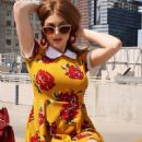 Renee Olstead – Photoshoot for Unique Vintage Clothing April 2019