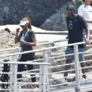 Holly Robinson Peete on a vacation with Rodney Peete in Portofino - 454 x 325