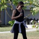 Jennifer Garner – Out walking in Brentwood