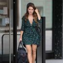 Una Healy – In summer dress leaving the Sunday Brunch studios in London - 454 x 571