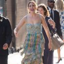 Mandy Moore – Arrives at 'Jimmy Kimmel Live' in Hollywood