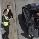 Angelina Jolie at London's Heathrow airport (May 17, 2018) - 454 x 362