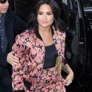 Demi Lovato Arrives at AOLBuild in NY