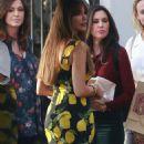 Sofia Vergara – Leaves Gracias Madre in West Hollywood