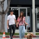 Taylor Hill – Walking her dog in West Hollywood