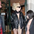 Lady Gaga's Pantless Parisian Shopping Spree