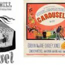 Carousel (Stage Playbill) and Movie Placard