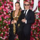Thalia and Tommy Mottola- 72nd Annual Tony Awards - Arrivals - 399 x 600