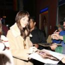 Dakota Johnson – Greets fans outside of Largo in West Hollywood