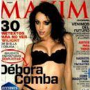 Debora Comba Maxim Mexico November 2011 - 454 x 627