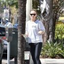 Olivia Wilde in Spandex out in Studio City