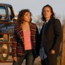 Taylor Kitsch and Madison Burge