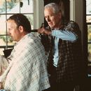 Kevin Costner and Paul Newman in Warner Brothers' Message In A Bottle - 1999