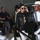 Kylie Jenner grabs a flight at LAX on December 07, 2015