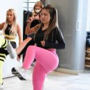 Holly Hagan – Charlotte Thorne Fitness class at Foodwell in Manchester