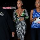 Amber Rose attends Carmen Electra's Birthday Party at Hooray Henry's in West Hollywood, California - April 24, 2014