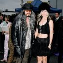 Rob Zombie and Sheri Moon during 1997 MTV Movie Awards in Los Angeles, California - 405 x 612