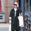 Julianne Moore – Seen at a Gym In New York