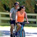Lea Michele – Bike Riding in The Hamptons - 454 x 616