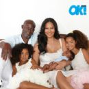 Djimon Hounsou and Kimora Lee Simmons