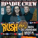 Alex Lifeson, Neil Peart, Geddy Lee - Roadie Crew Magazine Cover [Brazil] (August 2015)