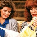 Amanda with Katey Sagal on Married With Children