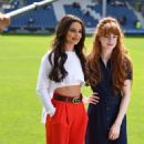 Cheryl Tweedy and Nicola Roberts – GAME4GRENFELL charity football match – London - 454 x 772