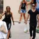 Jared Leto and Katharina Damm In Saint Tropez