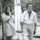 Jacqueline Bisset and Tony Franciosca