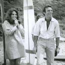Jacqueline Bisset and Tony Franciosca