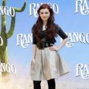 Abigail Breslin - Premiere of Rango in Rome, Italy