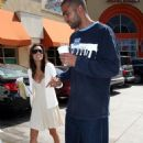 Eva Longoria - With Tony Parker At Los Angeles Airport, 2007-07-21