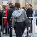 Daisy Lowe Working Out In Leggyngs In London