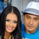 Cesar Montano and Sam Pinto