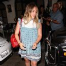 Hilary Duff – Leaving Madeo Restaurant in Beverly Hills