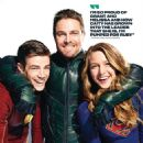 Grant Gustin, Stephen Amell and Melissa Benoist  – Entertainment Weekly – The Ultimate Guide to Arrowverse 2019