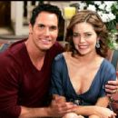 Don Diamont and Amelia Heinle