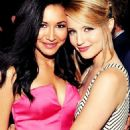 Dianna Agron and Naya Rivera