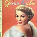 Lana Turner - Geino Gaho Magazine Pictorial [Japan] (November 1952) - 454 x 656